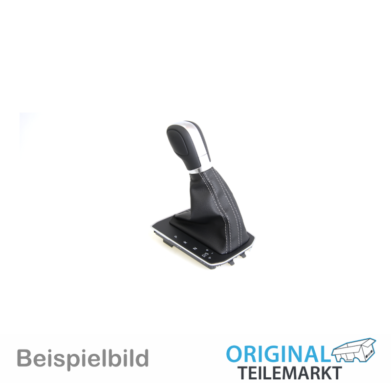Abdeckung Leder schwarz/anthrazit 1T1713203C TZL